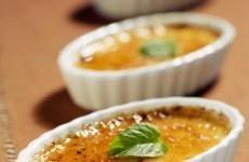 mini crèmes brûlées au foie gras
