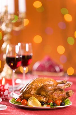 Exemple de recette de repas de Noël
